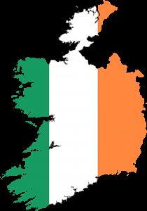 Republic-Of-Ireland-Map-Flag